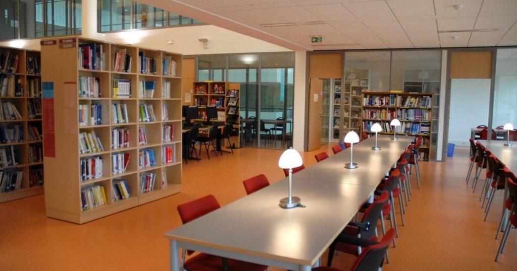 salle travail bibliothèque